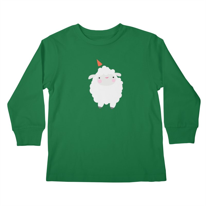 Party Lamb Kids Longsleeve T-Shirt by Ginger's Shop