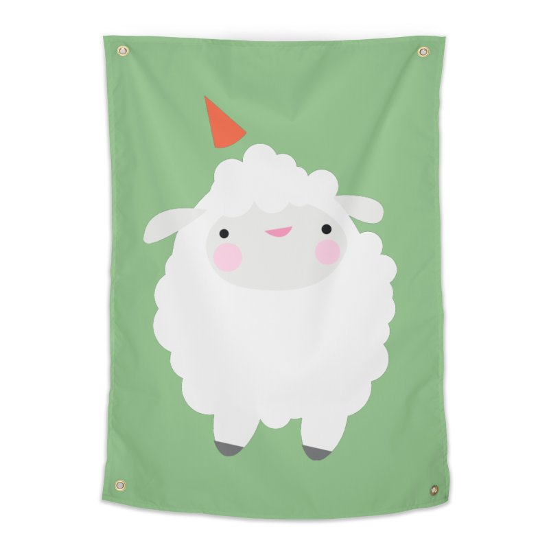 Party Lamb Home Tapestry by Ginger's Shop