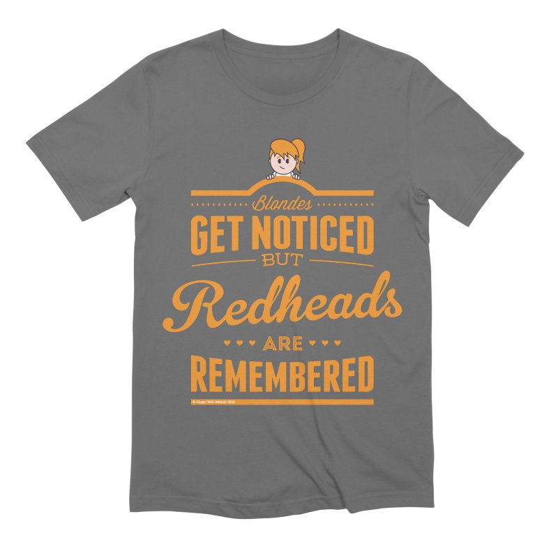 RemembeRED Men's T-Shirt by Ginger With Attitude's Artist Shop