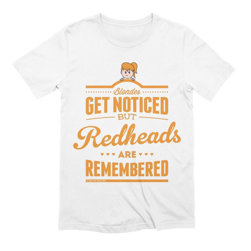 RemembeRED Men's Extra Soft T-Shirt by Ginger With Attitude's Artist Shop