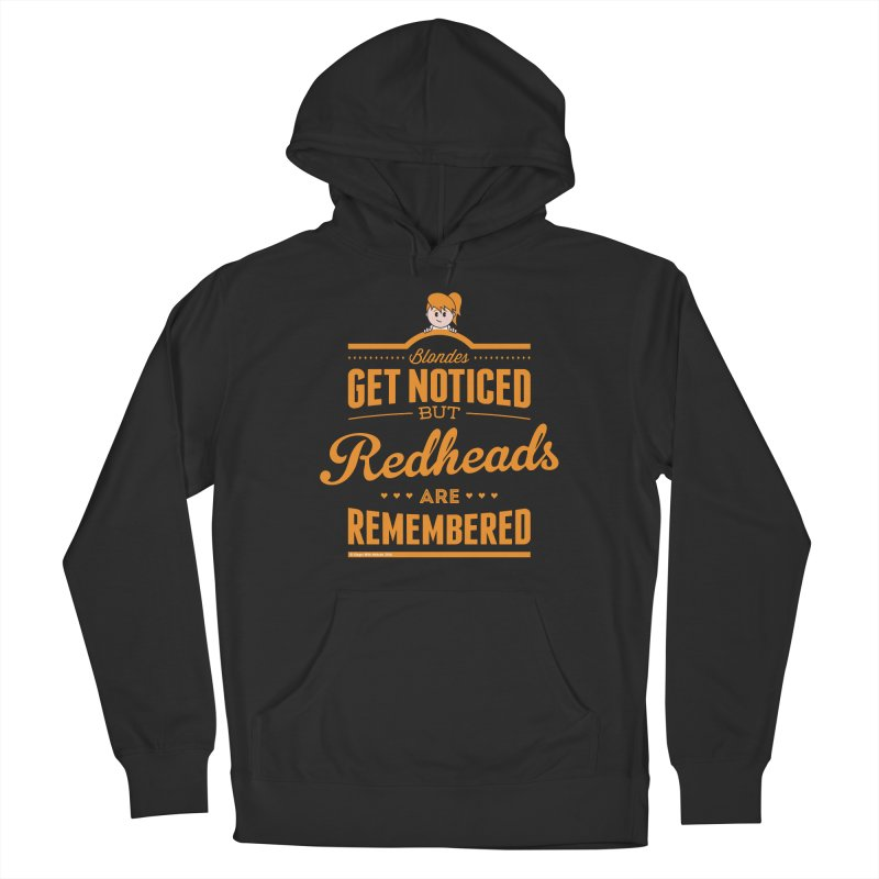 RemembeRED Women's Pullover Hoody by Ginger With Attitude's Artist Shop