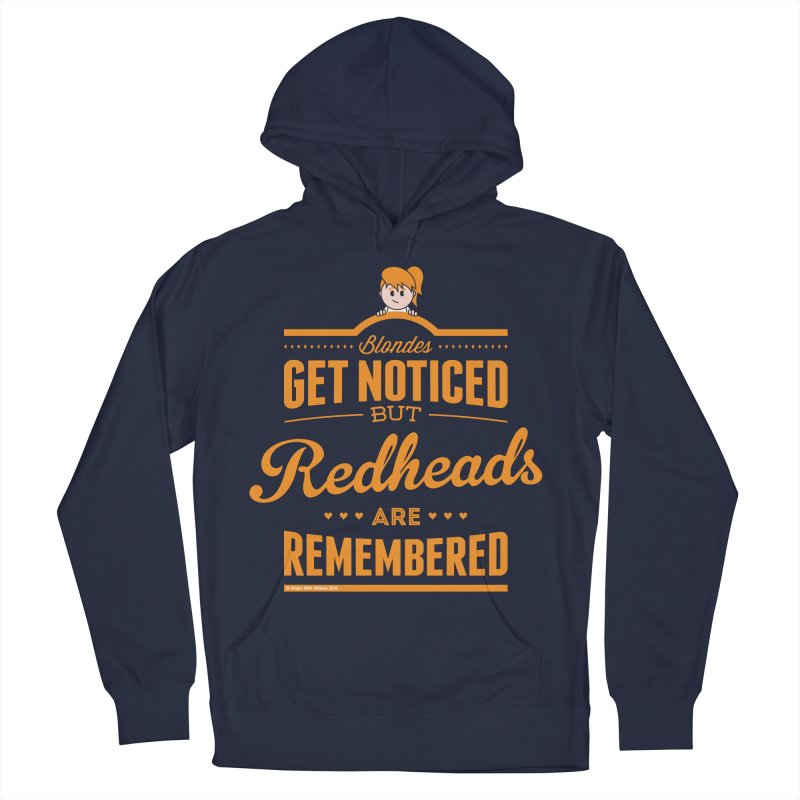 RemembeRED Men's Pullover Hoody by Ginger With Attitude's Artist Shop