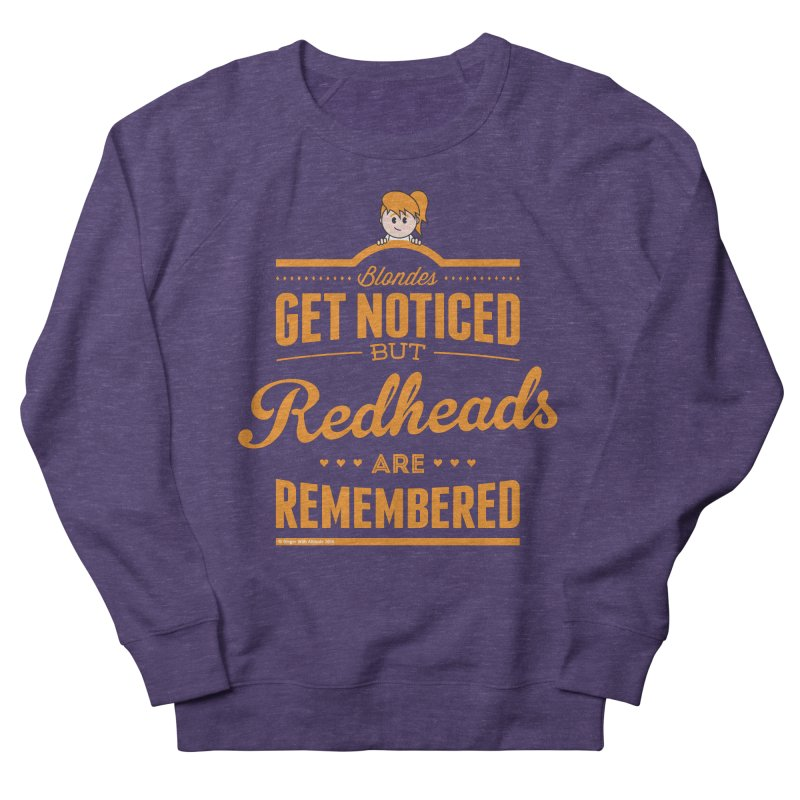 RemembeRED Men's Sweatshirt by Ginger With Attitude's Artist Shop