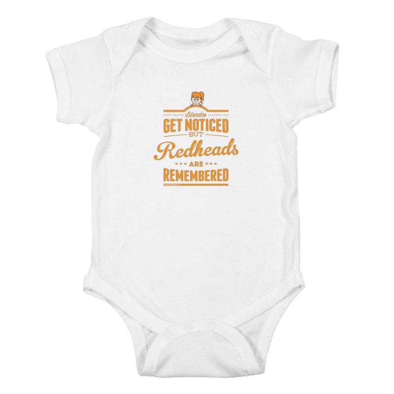 RemembeRED Kids Baby Bodysuit by Ginger With Attitude's Artist Shop