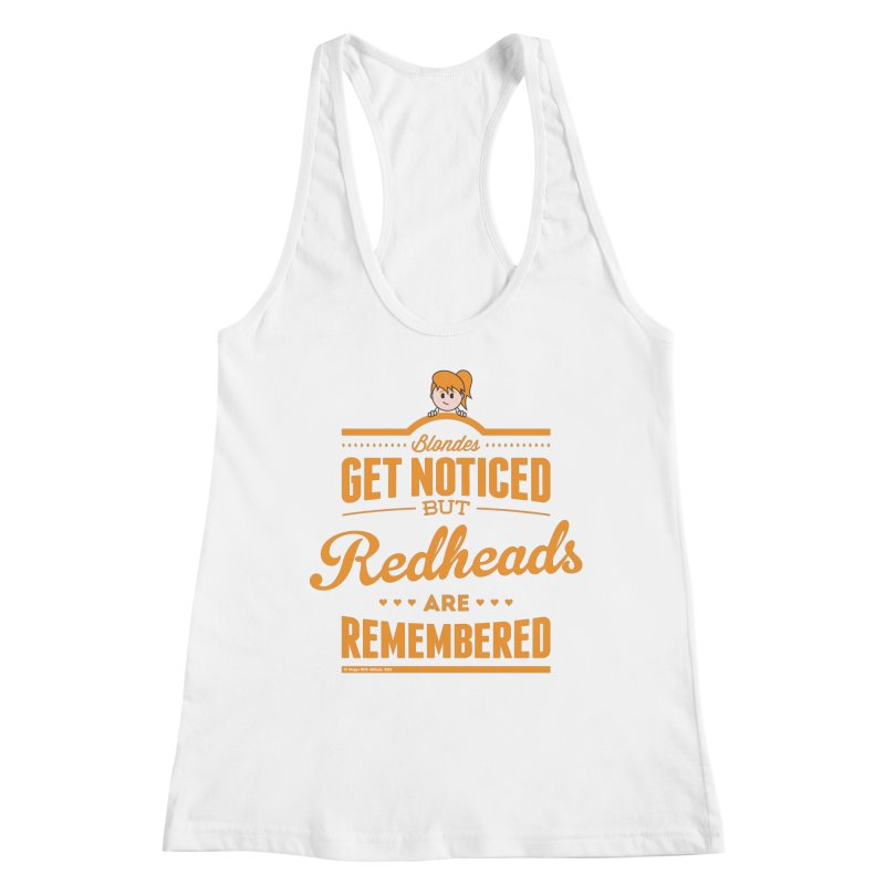 RemembeRED Women's Racerback Tank by Ginger With Attitude's Artist Shop