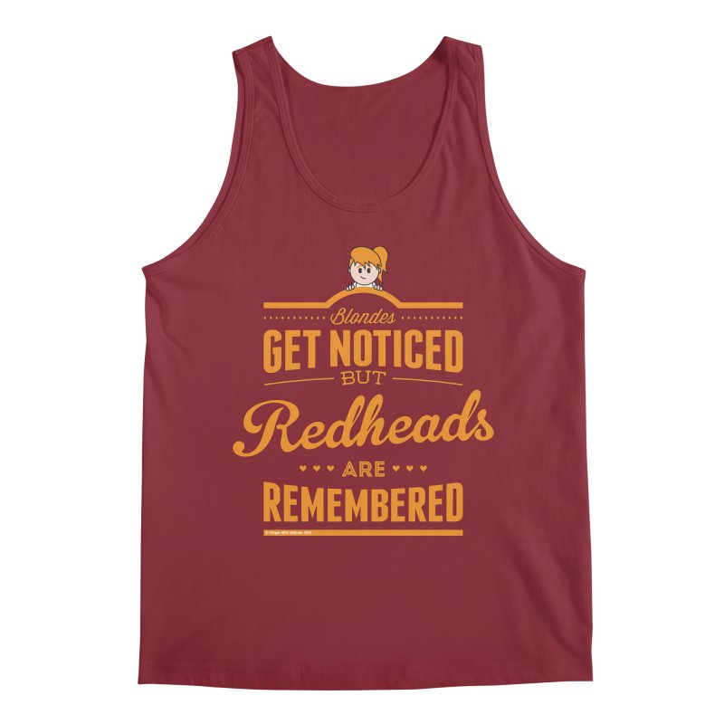 RemembeRED Men's Tank by Ginger With Attitude's Artist Shop