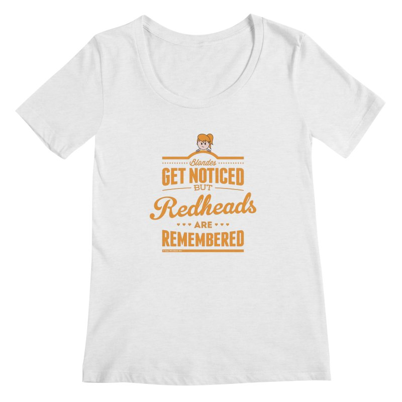 RemembeRED Women's Scoop Neck by Ginger With Attitude's Artist Shop
