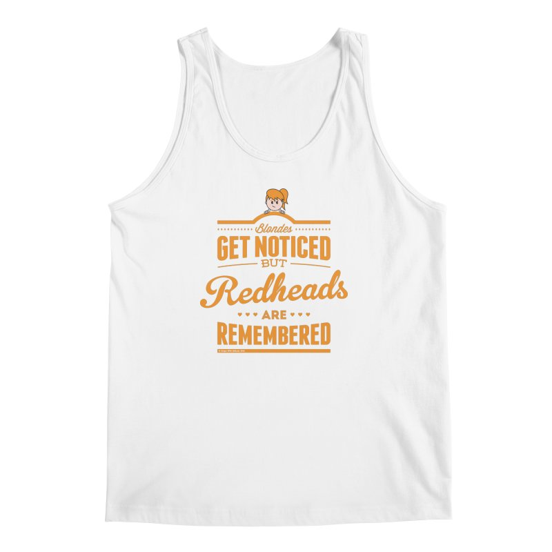 RemembeRED Men's Regular Tank by Ginger With Attitude's Artist Shop
