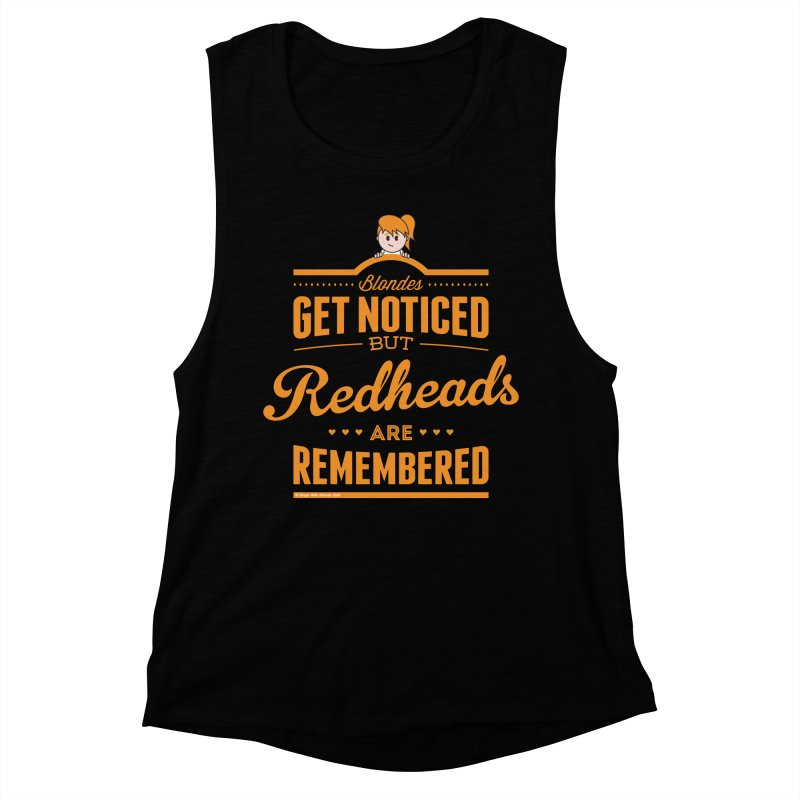 RemembeRED Women's Muscle Tank by Ginger With Attitude's Artist Shop