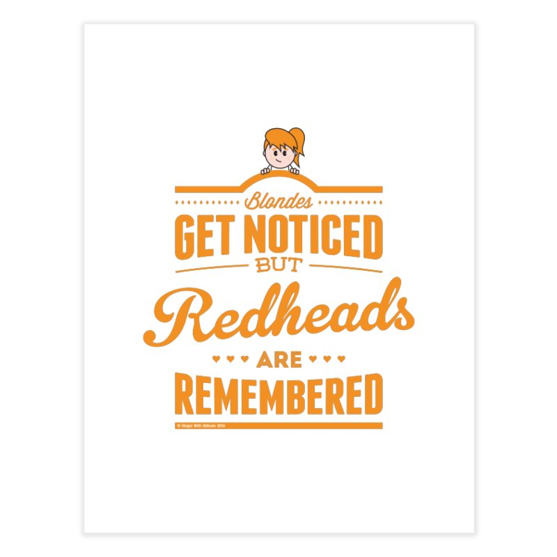 RemembeRED Home Fine Art Print by Ginger With Attitude's Artist Shop