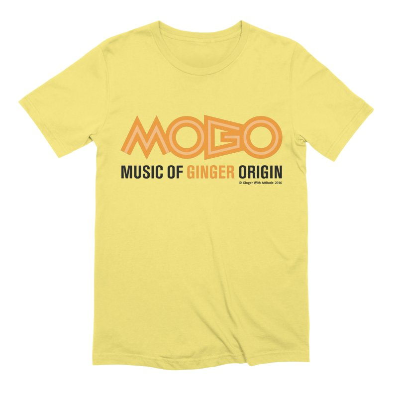 MOGO Men's Extra Soft T-Shirt by Ginger With Attitude's Artist Shop