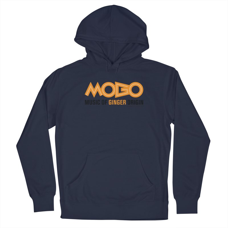 MOGO Women's French Terry Pullover Hoody by Ginger With Attitude's Artist Shop