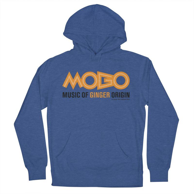 MOGO Men's French Terry Pullover Hoody by Ginger With Attitude's Artist Shop