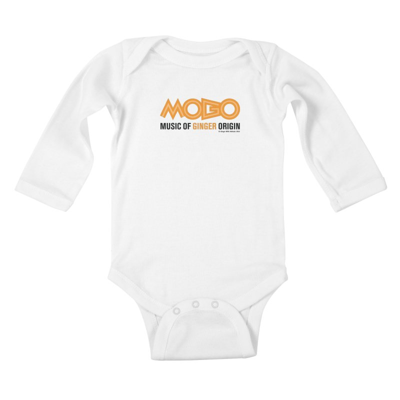 MOGO Kids Baby Longsleeve Bodysuit by Ginger With Attitude's Artist Shop