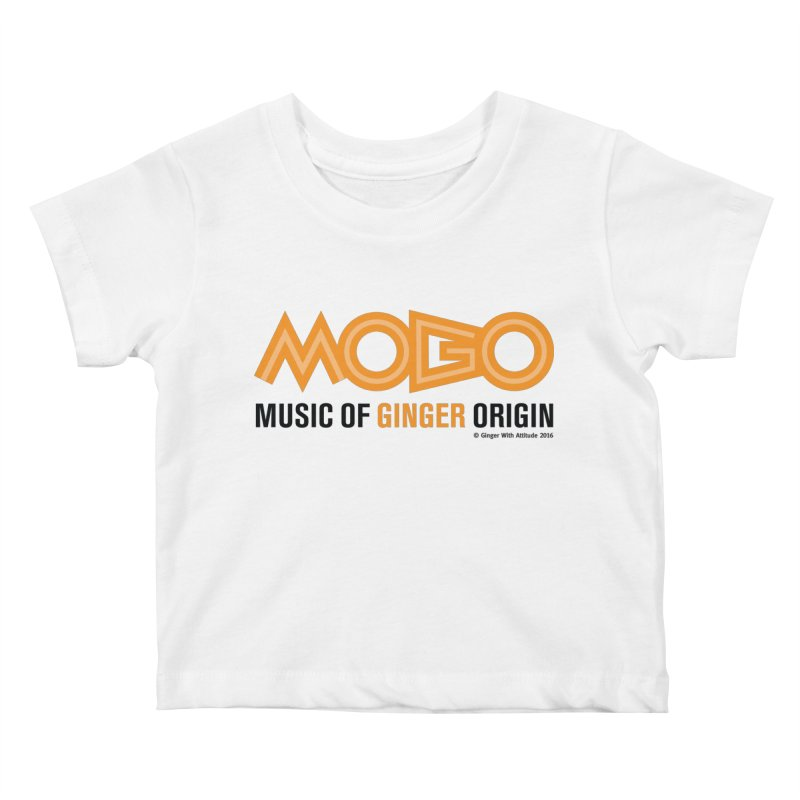 MOGO Kids Baby T-Shirt by Ginger With Attitude's Artist Shop