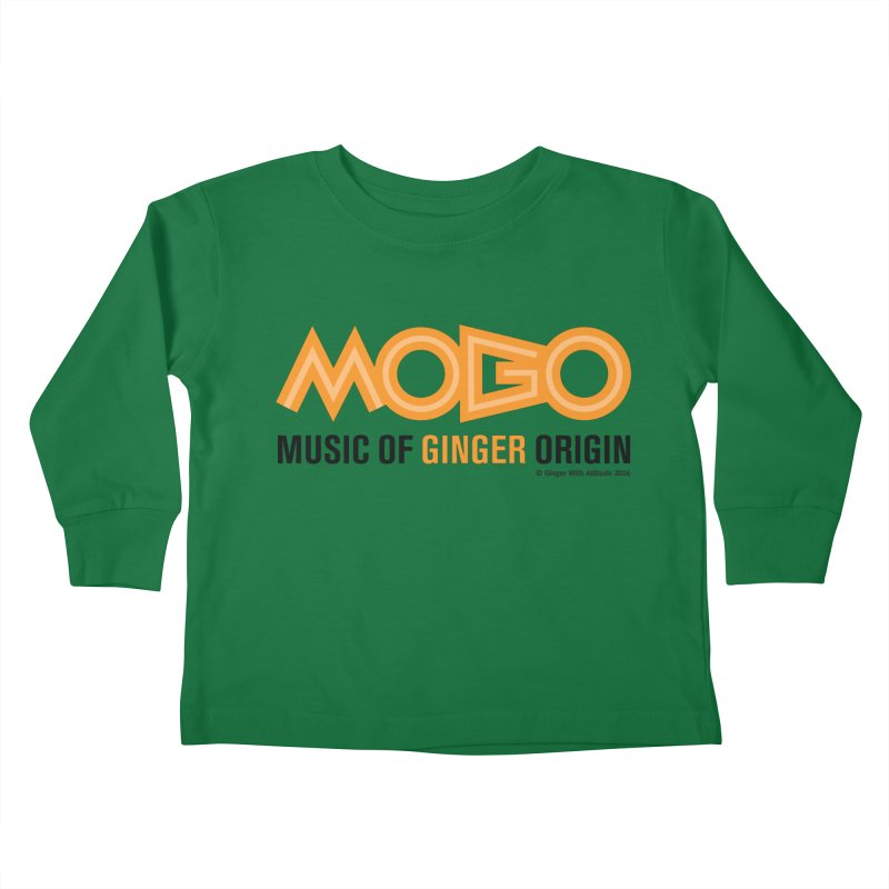 MOGO Kids Toddler Longsleeve T-Shirt by Ginger With Attitude's Artist Shop