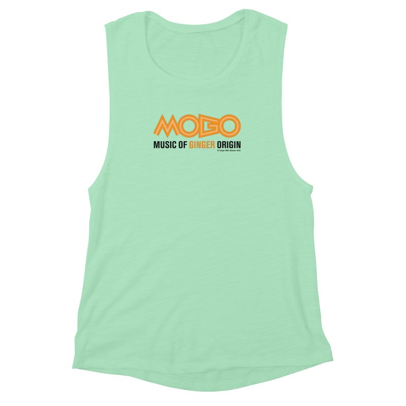 MOGO Women's Muscle Tank by Ginger With Attitude's Artist Shop