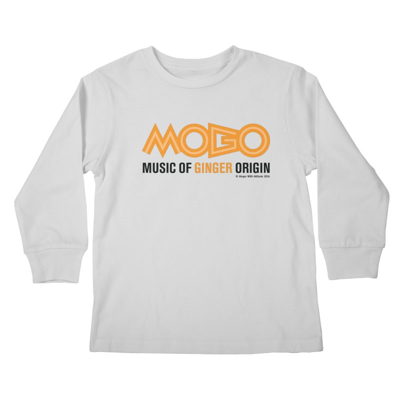 MOGO Kids Longsleeve T-Shirt by Ginger With Attitude's Artist Shop