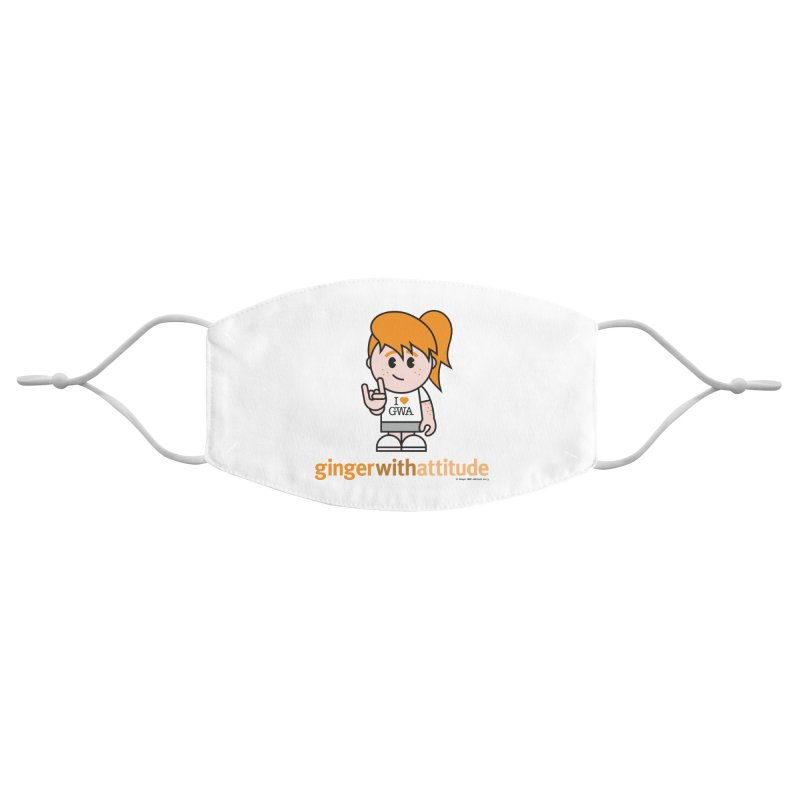 Original Girl GWA Accessories Face Mask by Ginger With Attitude's Artist Shop