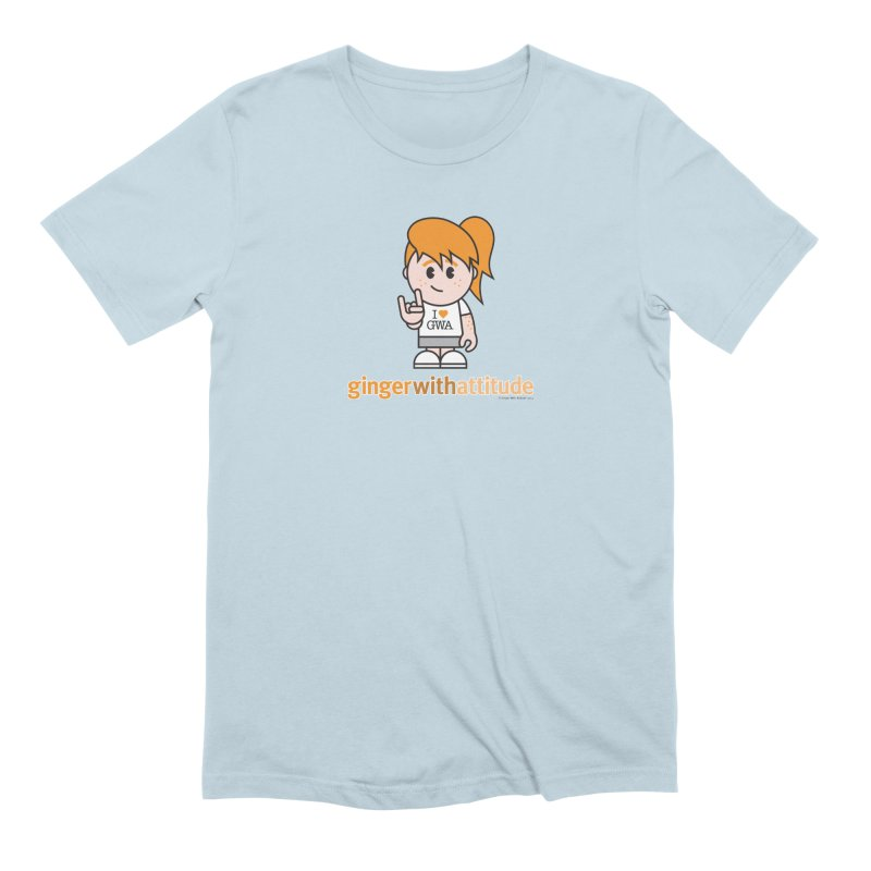 Original Girl GWA Men's Extra Soft T-Shirt by Ginger With Attitude's Artist Shop