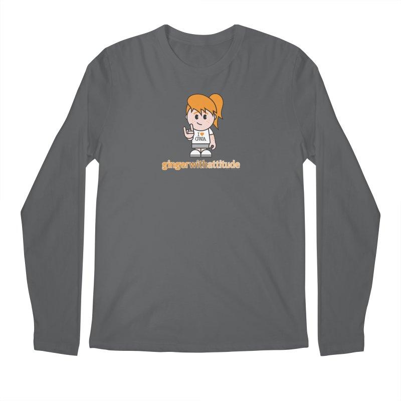 Original Girl GWA Men's Longsleeve T-Shirt by Ginger With Attitude's Artist Shop