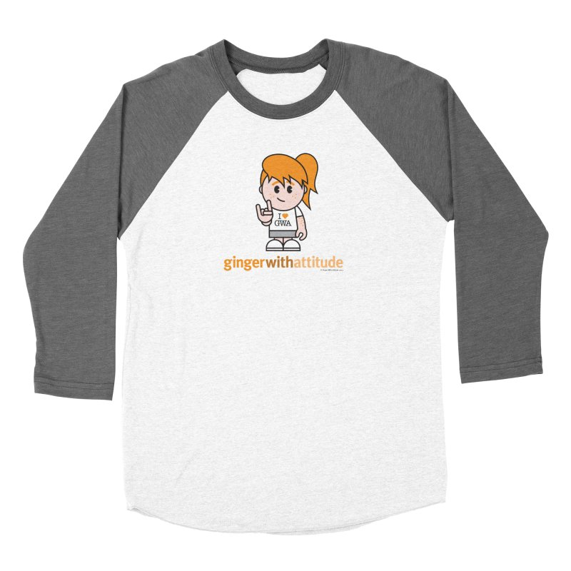 Original Girl GWA Women's Longsleeve T-Shirt by Ginger With Attitude's Artist Shop