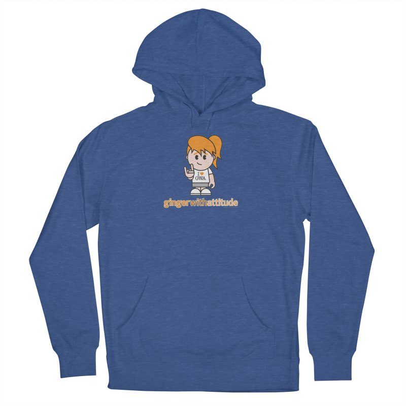 Original Girl GWA Women's French Terry Pullover Hoody by Ginger With Attitude's Artist Shop
