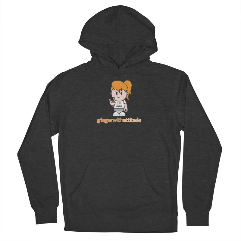 Original Girl GWA Men's French Terry Pullover Hoody by Ginger With Attitude's Artist Shop