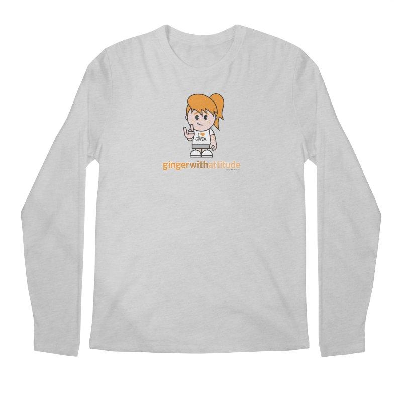 Original Girl GWA Men's Regular Longsleeve T-Shirt by Ginger With Attitude's Artist Shop