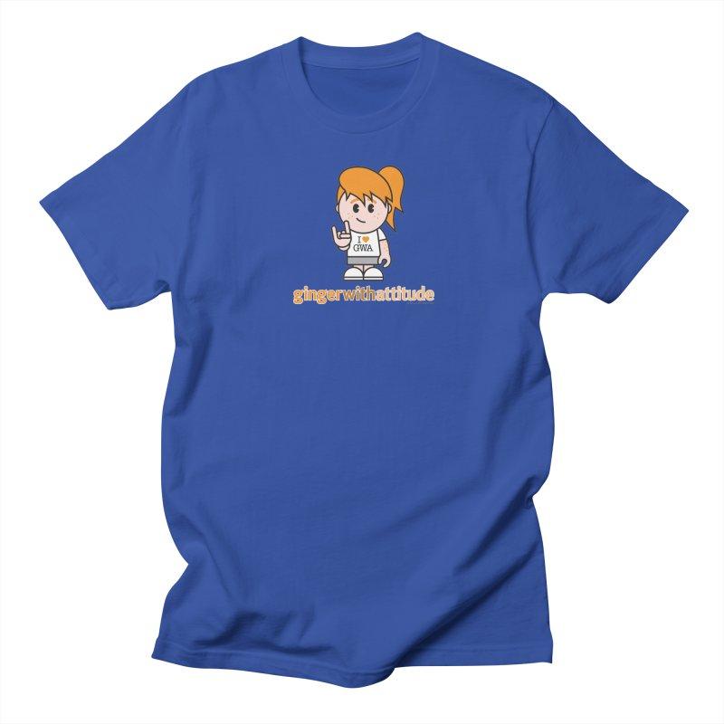 Original Girl GWA Men's T-Shirt by Ginger With Attitude's Artist Shop