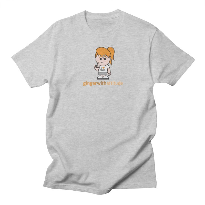 Original Girl GWA Men's Regular T-Shirt by Ginger With Attitude's Artist Shop
