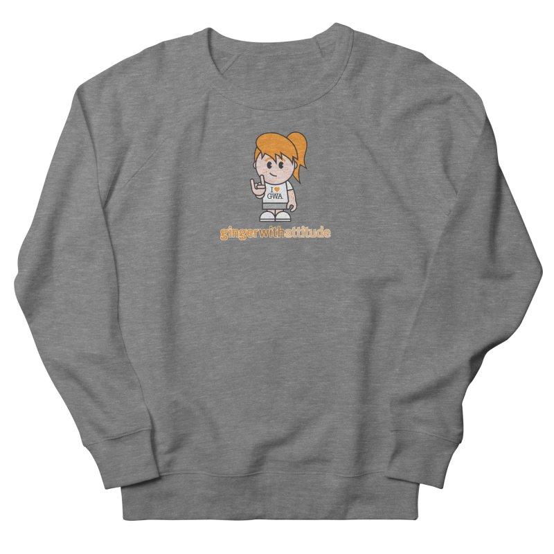 Original Girl GWA Men's Sweatshirt by Ginger With Attitude's Artist Shop