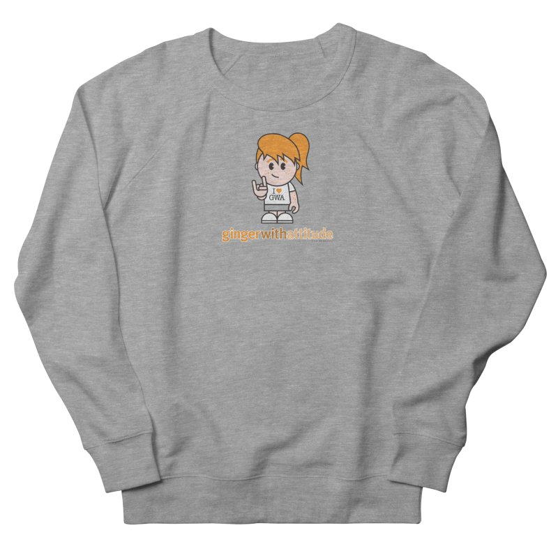 Original Girl GWA Men's French Terry Sweatshirt by Ginger With Attitude's Artist Shop
