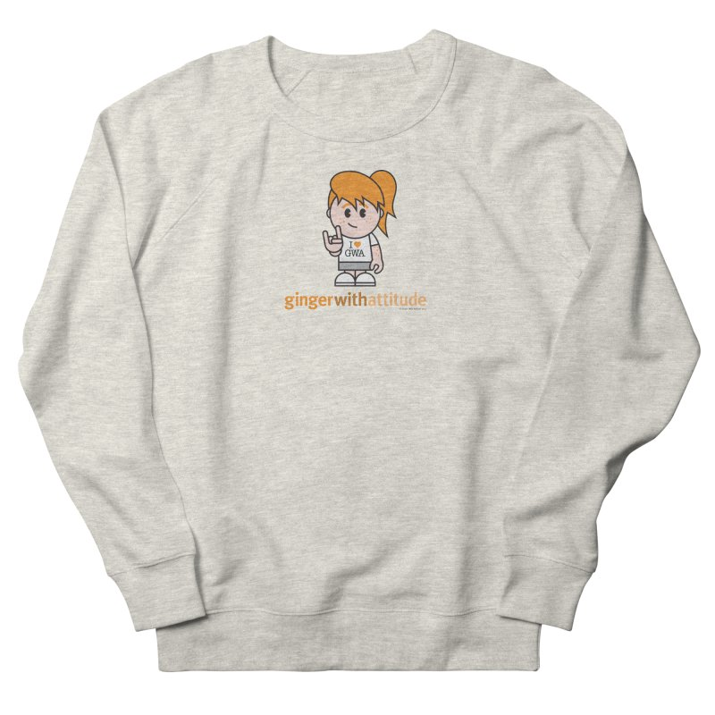 Original Girl GWA Men's Sweatshirt by Ginger With Attitude's Artist Shop