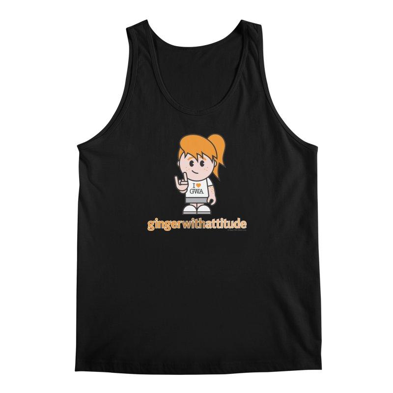Original Girl GWA Men's Regular Tank by Ginger With Attitude's Artist Shop
