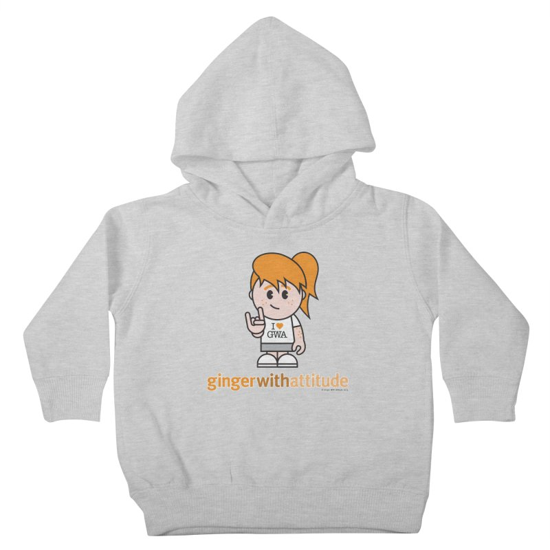 Original Girl GWA Kids Toddler Pullover Hoody by Ginger With Attitude's Artist Shop
