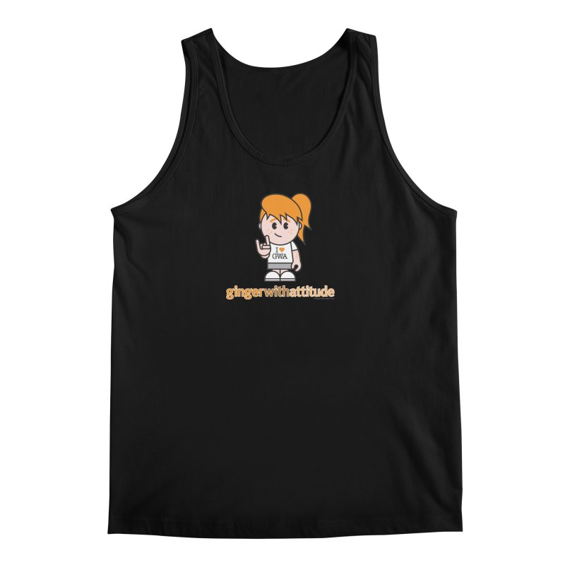 Original Girl GWA Men's Regular Tank by Ginger With Attitude's Artist Shop
