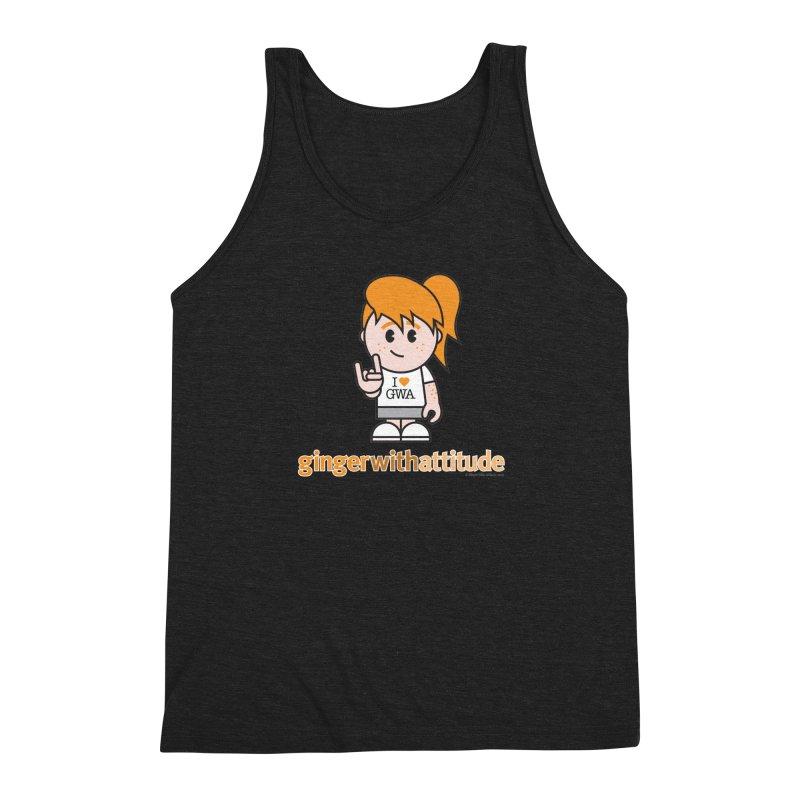 Original Girl GWA Men's Triblend Tank by Ginger With Attitude's Artist Shop