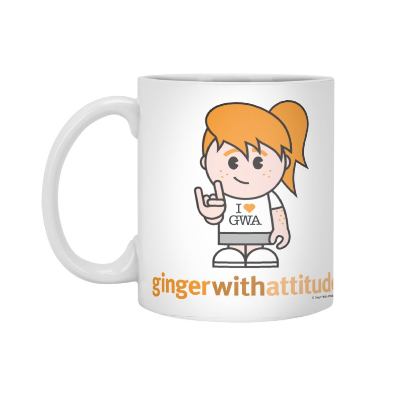 Original Girl GWA Accessories Mug by Ginger With Attitude's Artist Shop