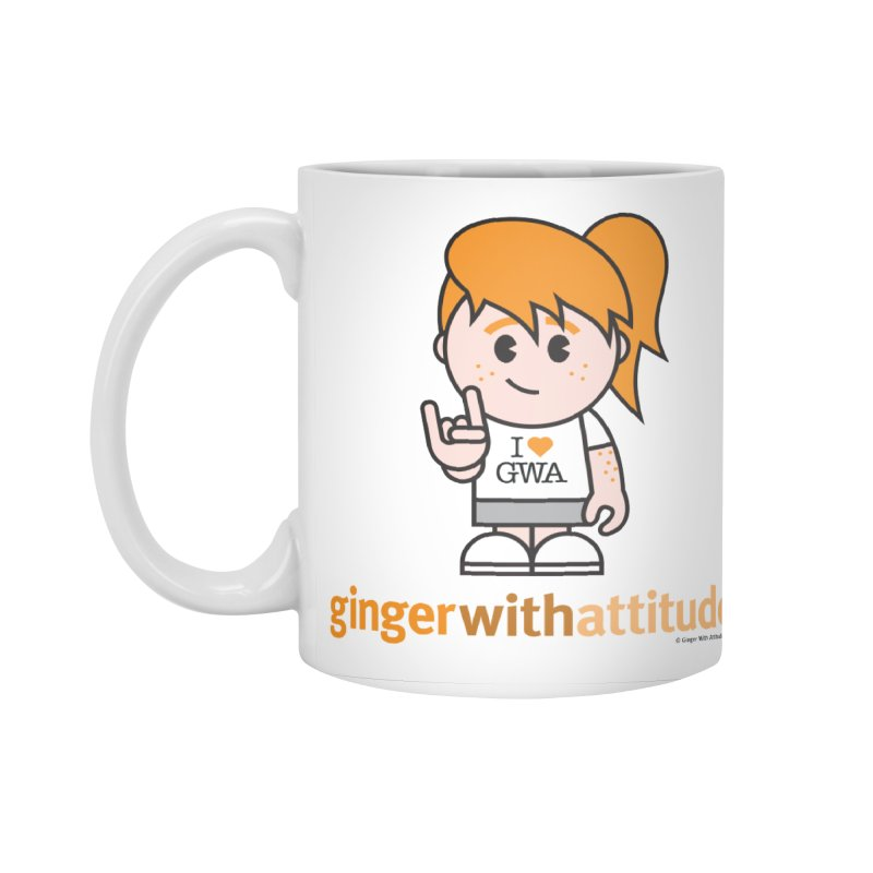 Original Girl GWA Accessories Standard Mug by Ginger With Attitude's Artist Shop