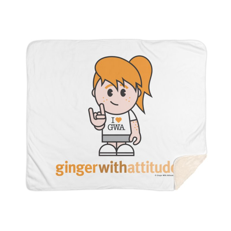 Original Girl GWA Home Blanket by Ginger With Attitude's Artist Shop