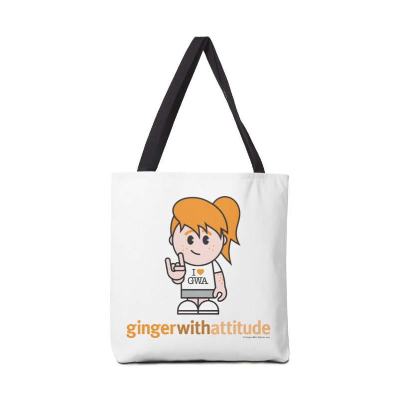Original Girl GWA Accessories Tote Bag Bag by Ginger With Attitude's Artist Shop