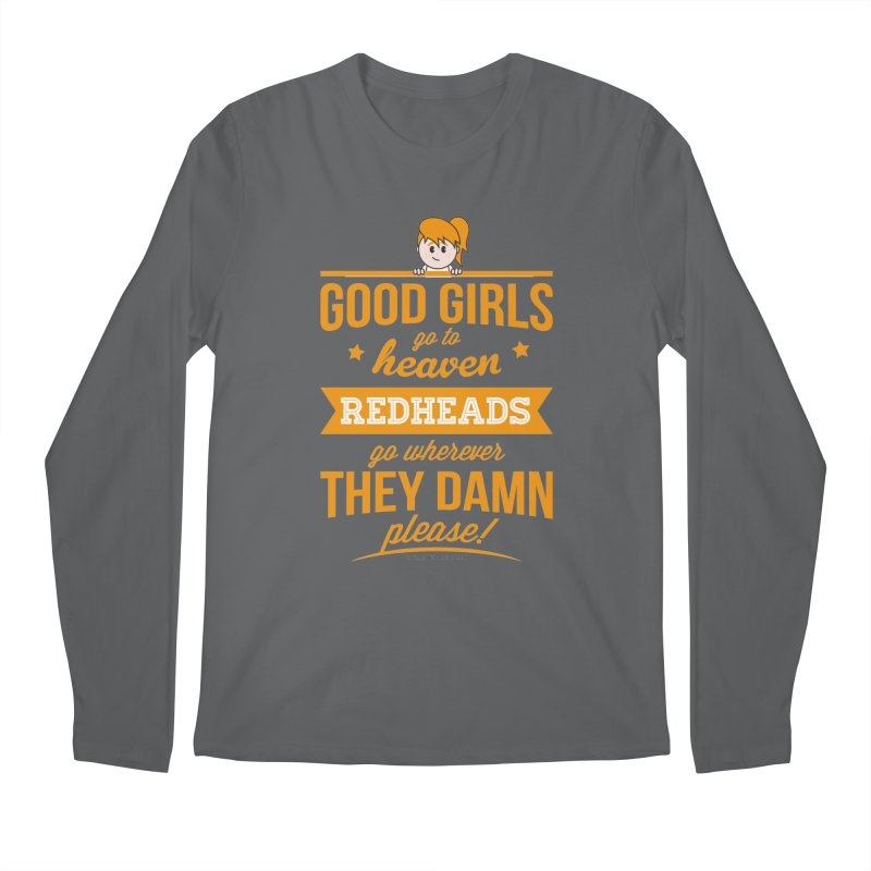 Good Girls Men's Longsleeve T-Shirt by Ginger With Attitude's Artist Shop