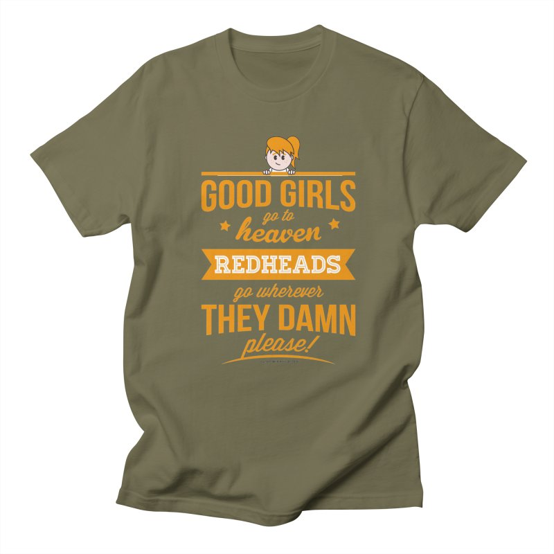 Good Girls Men's Regular T-Shirt by Ginger With Attitude's Artist Shop