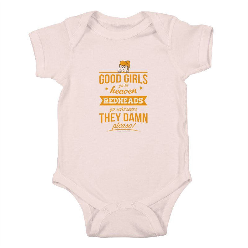 Good Girls Kids Baby Bodysuit by Ginger With Attitude's Artist Shop