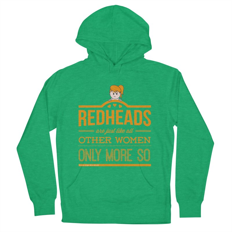 More So Men's French Terry Pullover Hoody by Ginger With Attitude's Artist Shop