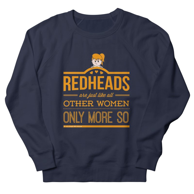 More So Men's Sweatshirt by Ginger With Attitude's Artist Shop