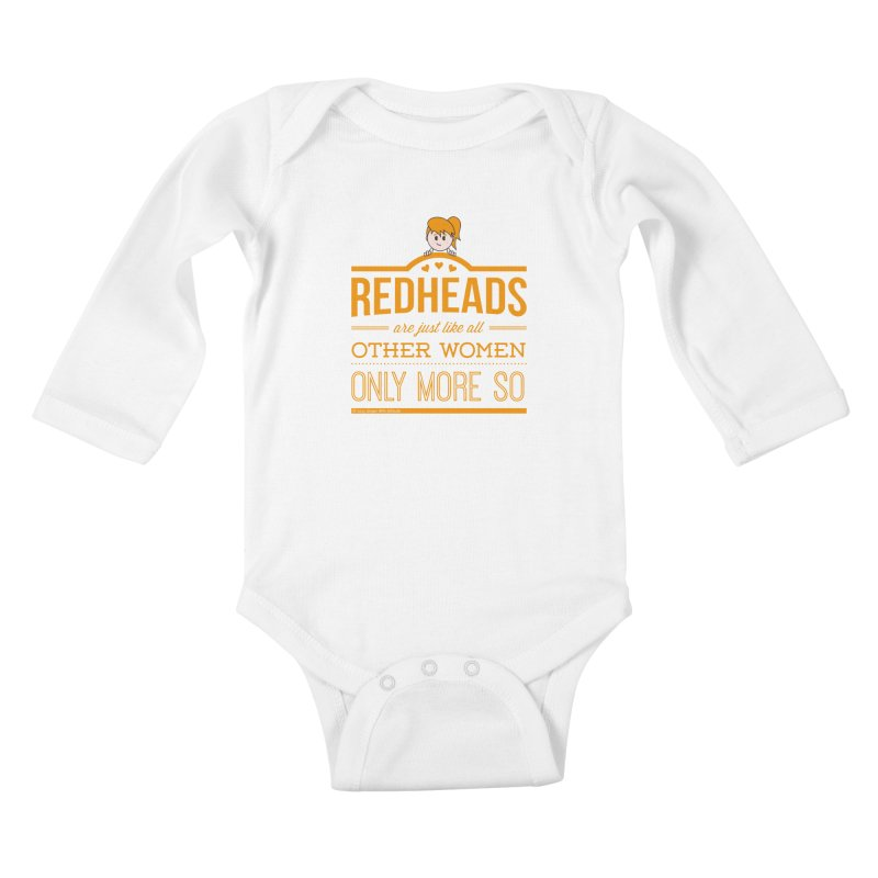 More So Kids Baby Longsleeve Bodysuit by Ginger With Attitude's Artist Shop