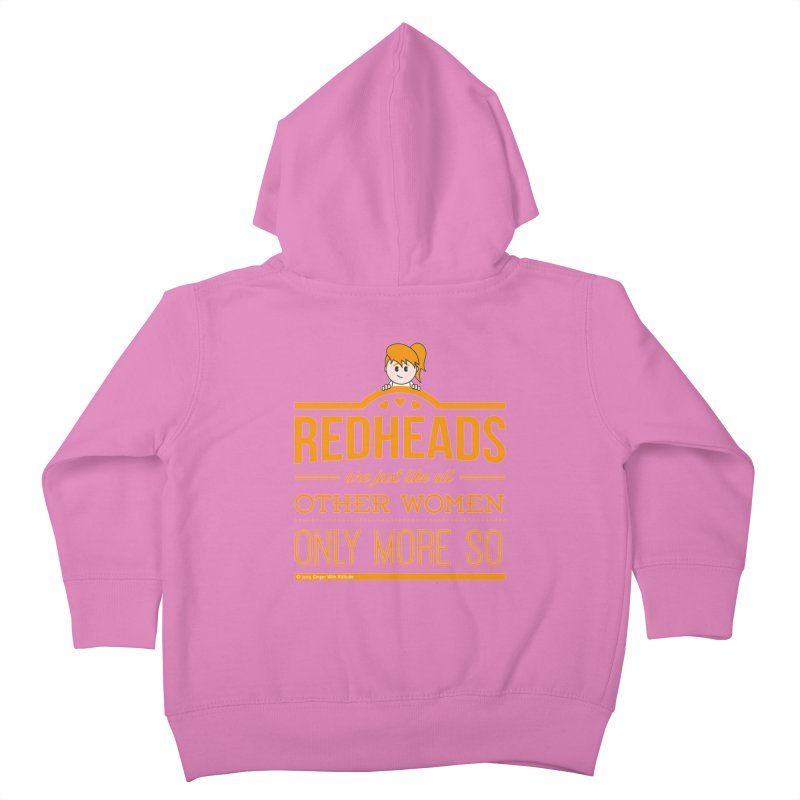 More So Kids Toddler Zip-Up Hoody by Ginger With Attitude's Artist Shop