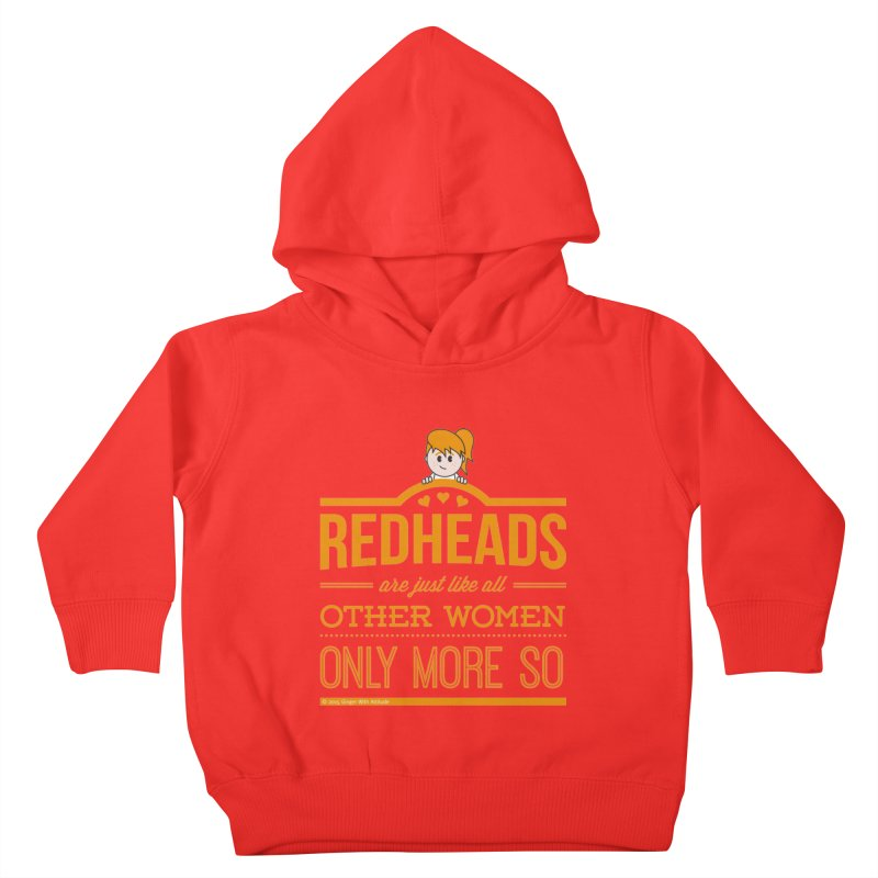 More So Kids Toddler Pullover Hoody by Ginger With Attitude's Artist Shop